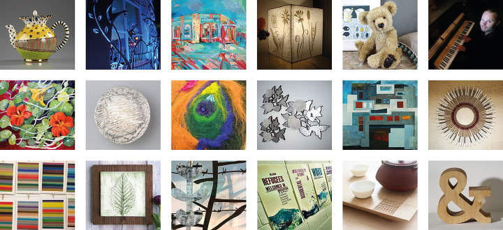 A broad selection of work will be available