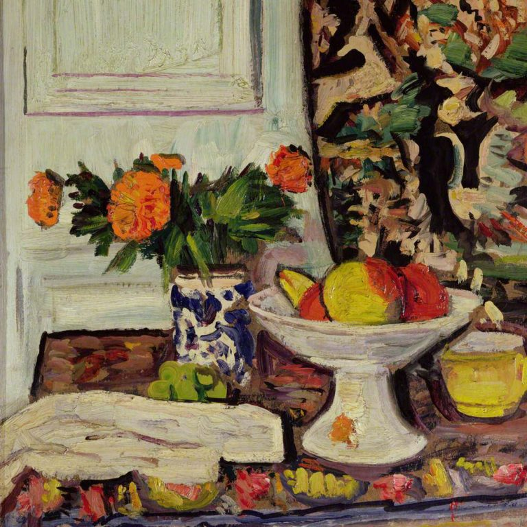 Hunter, George Leslie; Peonies in a Chinese Vase