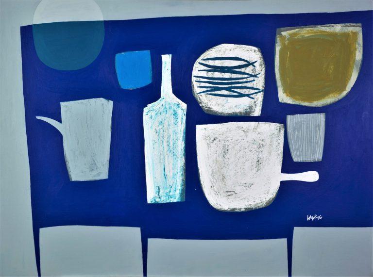 Fidra Fine Art, Simon Laurie, Greek Kitchen