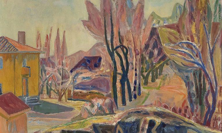 Leith School of Art, Aage Storstein