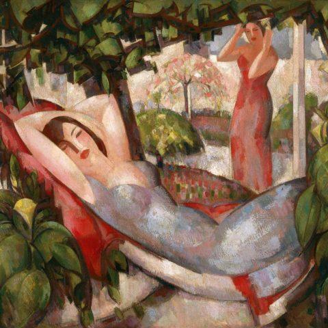 John Duncan Fergusson, Summer (detail)