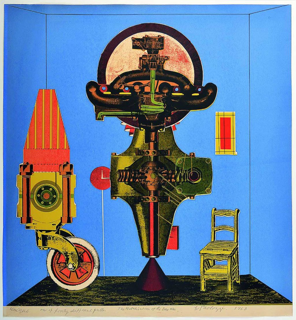 Scottish National Gallery of Modern Art (Modern Two): Andy Warhol and Eduardo Paolozzi, 'I Want to be a Machine'