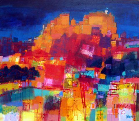 Fraser Gallery: Francis Boag, Blue Remembered Hills