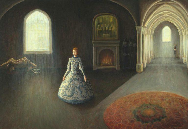 Gallery at Linlithgow Burgh Halls: Helen Flockhart, Linger Awhile