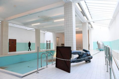 Elmgreen & DragsetThe Whitechapel Pool2018Installation viewCourtesy of Whitechapel Gallery Photo: Doug Peters