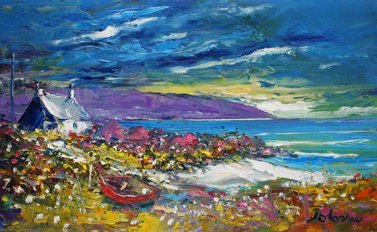 Jolomo, Winter storm The Mull of Kintyre
