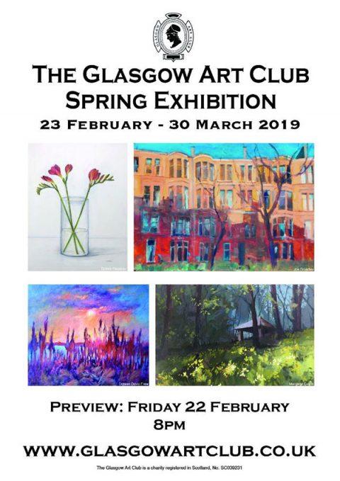 The Glasgow Art Club: Spring Exhibition 2019