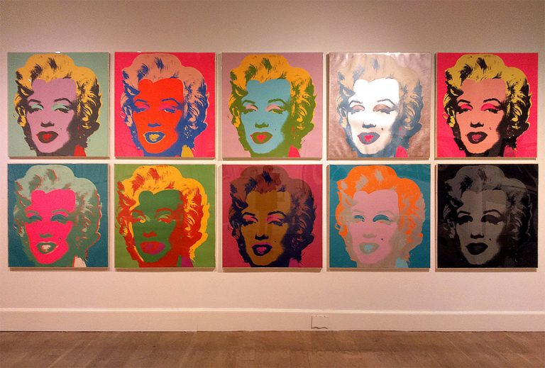Scottish National Gallery of Modern Art (Modern Two): Warhol and Paolozzi, I Want to Be a Machine