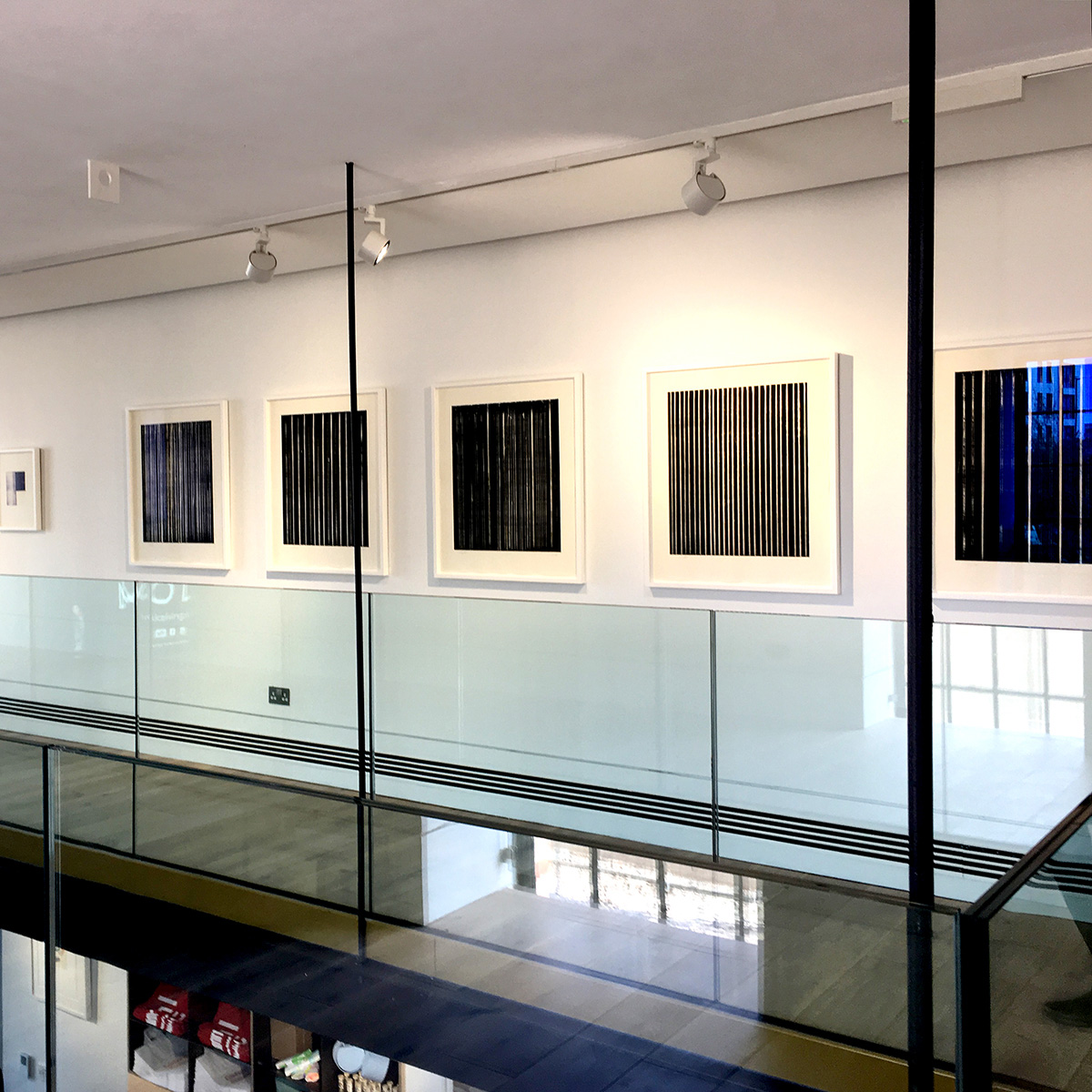 Gallery 2 display of Callum Innes: Prints 2005-2019