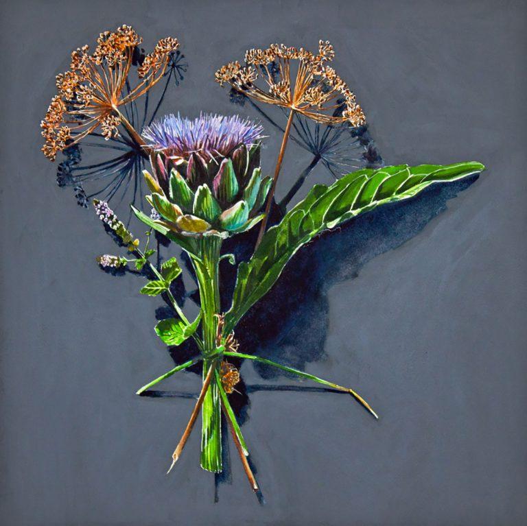 Kirsty Lorenz, 'Votive Offerings No. 100, Artichoke and Dill', c/o Resipole Studios