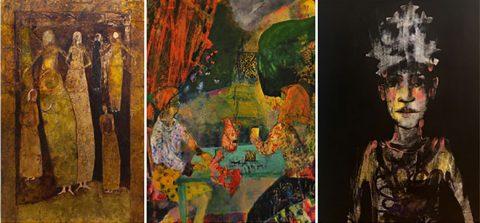 Union Gallery, Edinburgh: Threefold II