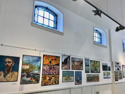 Short Courses exhibition artworks, LSA St James Campus