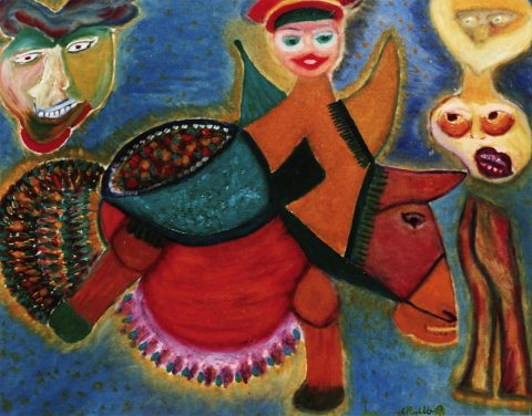 Maria Spadoni, Carnevale, oil
