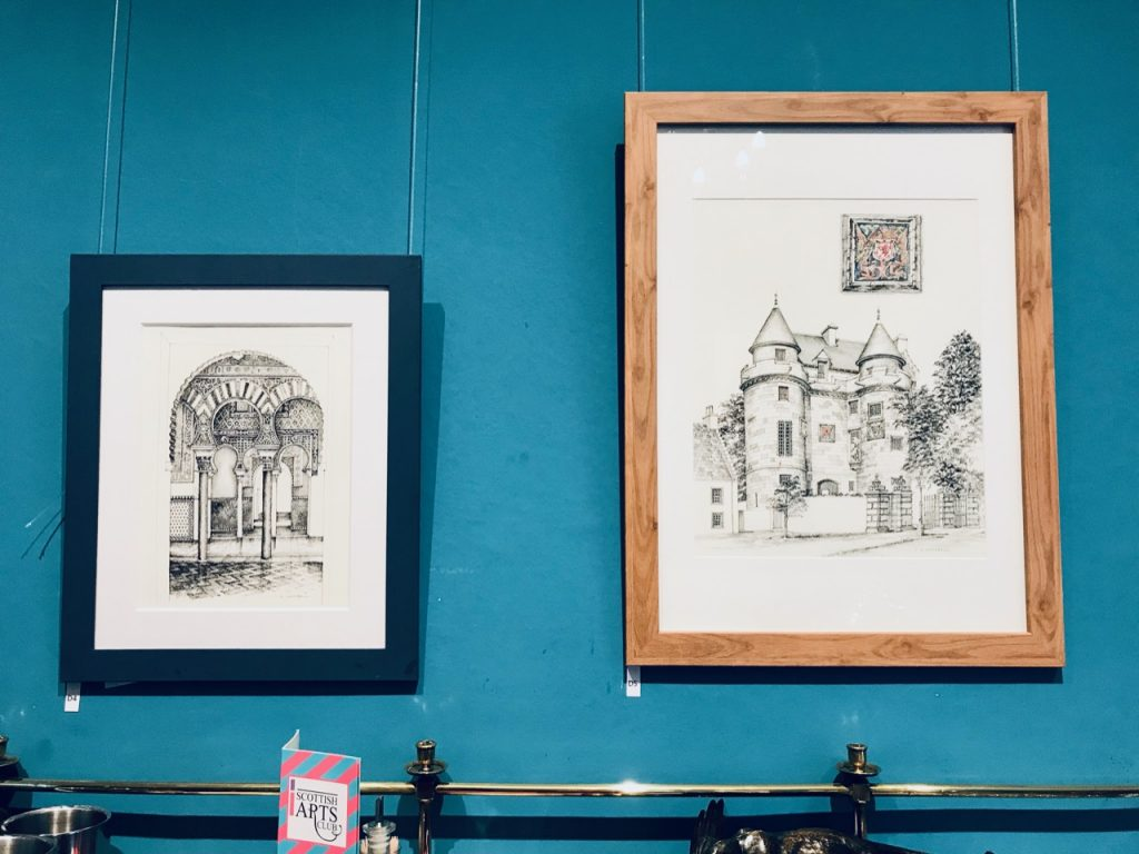 Ian Stuart Campbell, sketches from Architectural Tourist II