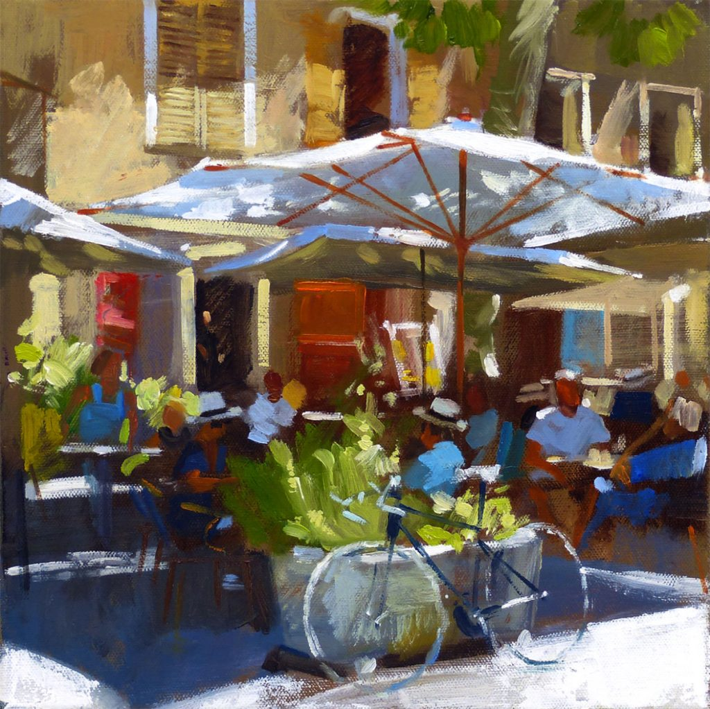 Jack Morrocco Café St Malo, Limited Edition print