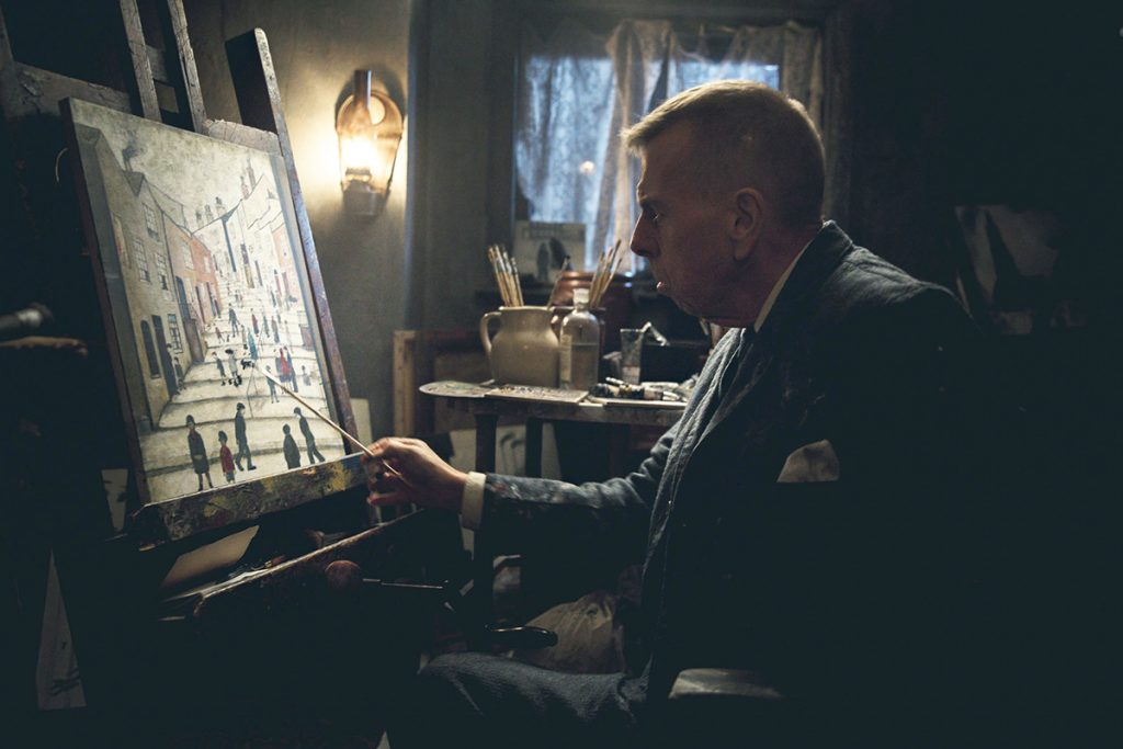 Timothy Spall in 'Mrs Lowry & Son'