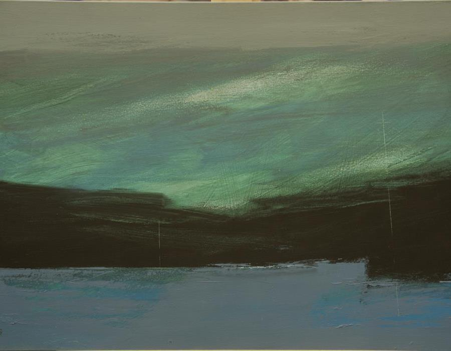 Robert McGilvray Northedge Series 3, oil on board