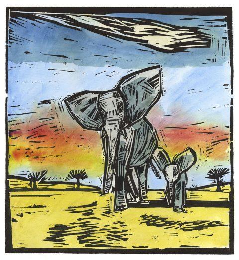 Damian Henry Elephants