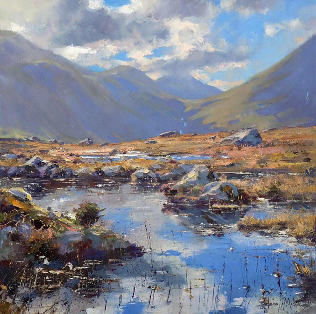 Julian Mason: Reflected Glory - oil on canvas