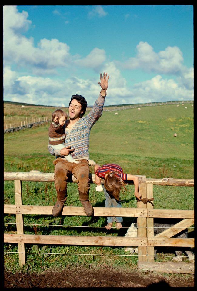Mary, Paul and Heather, Scotland, 1970