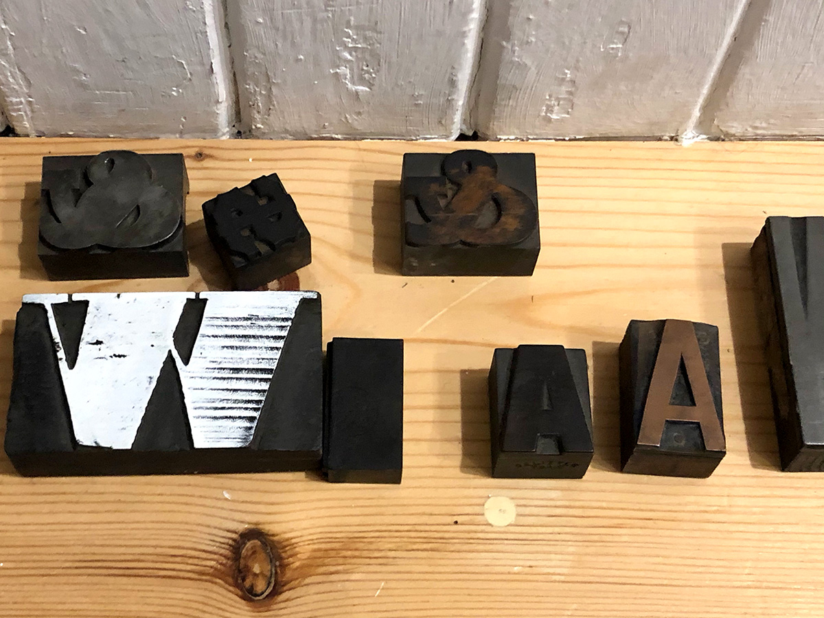 Letterpress Blocks
