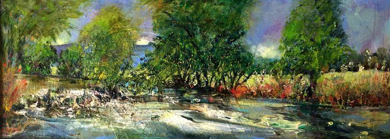 Iona Leishman - Dawn on the River
