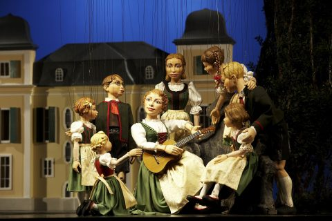 The Sound of Music gets the puppet treatment.