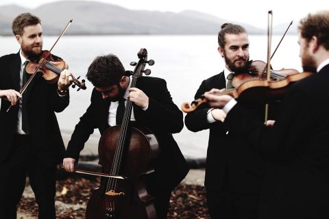 The Maxwell Quartet performs works by Mozart and Debussy at the Haddo Arts Festival.