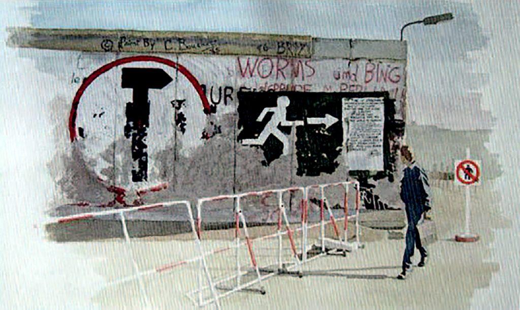 Sandy Cheyne:The Wall - Running Man