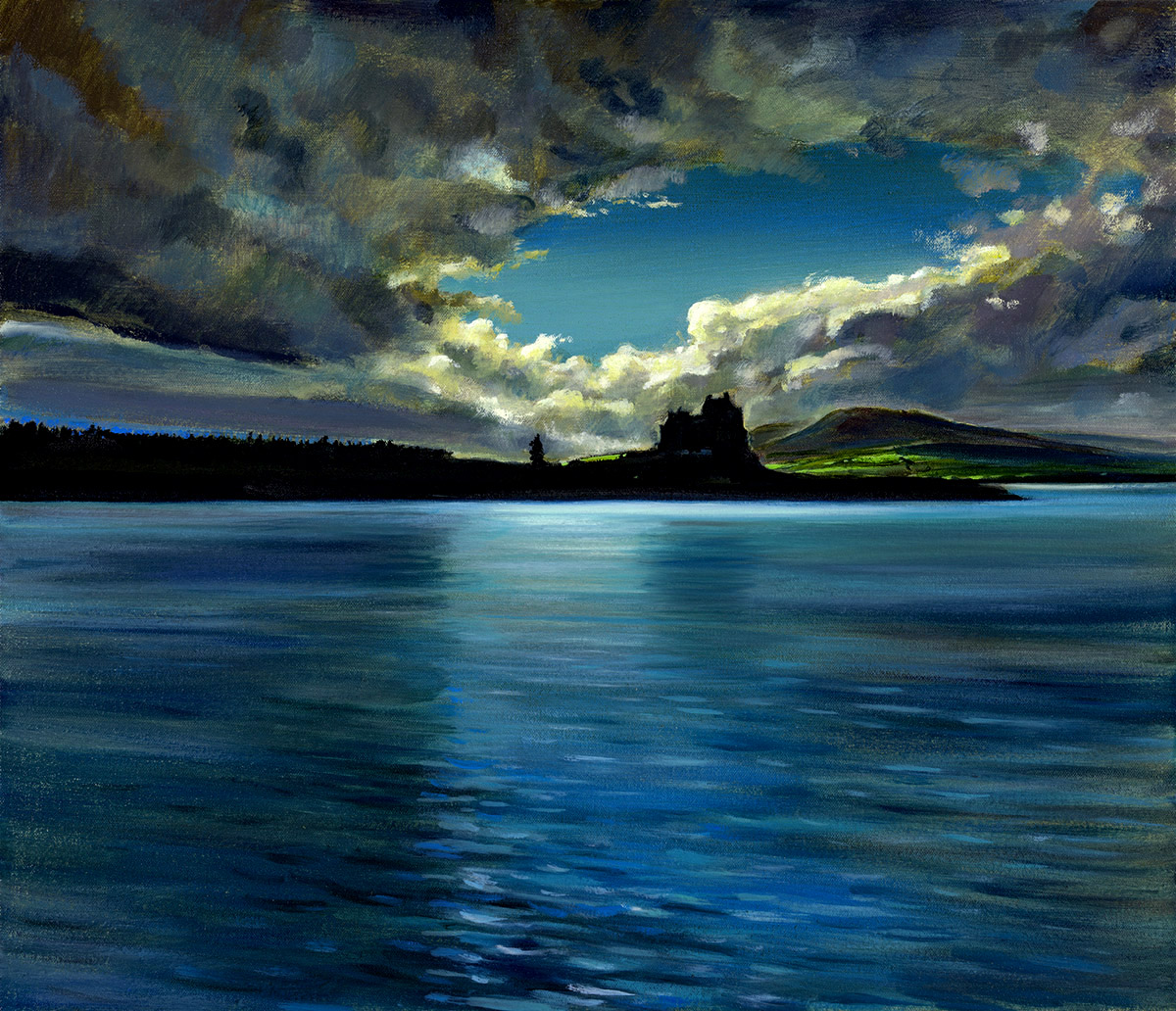 Nichol Wheatley: Duart Castle, the dowry of the Lord of the Isles, Isle of Mull