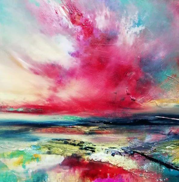 Maria Cid-Castilla,West Highland Sky, oils