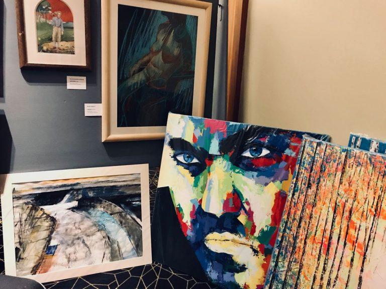 Edinburgh Macmillan Art Show at Apex Waterloo Place