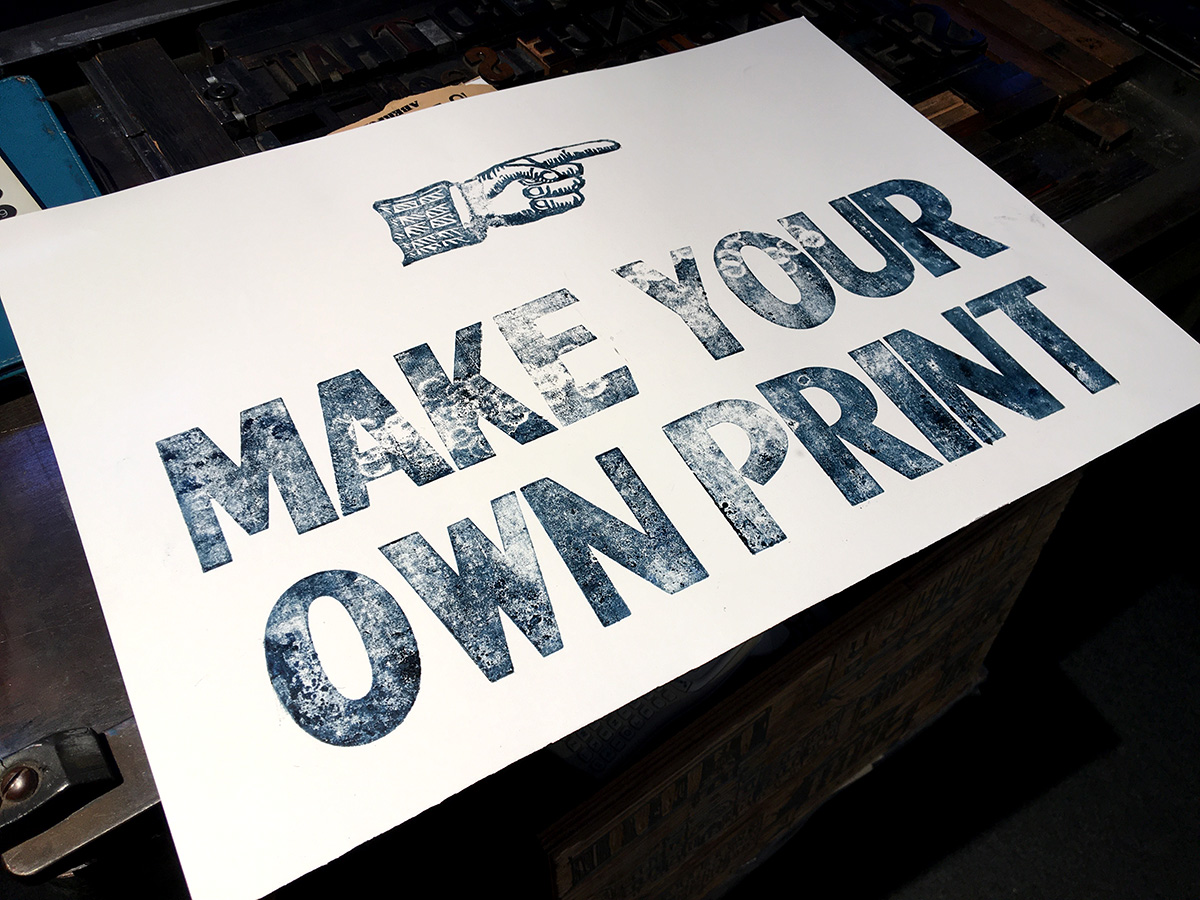 Ryan Hannigan - Make Your Own Print
