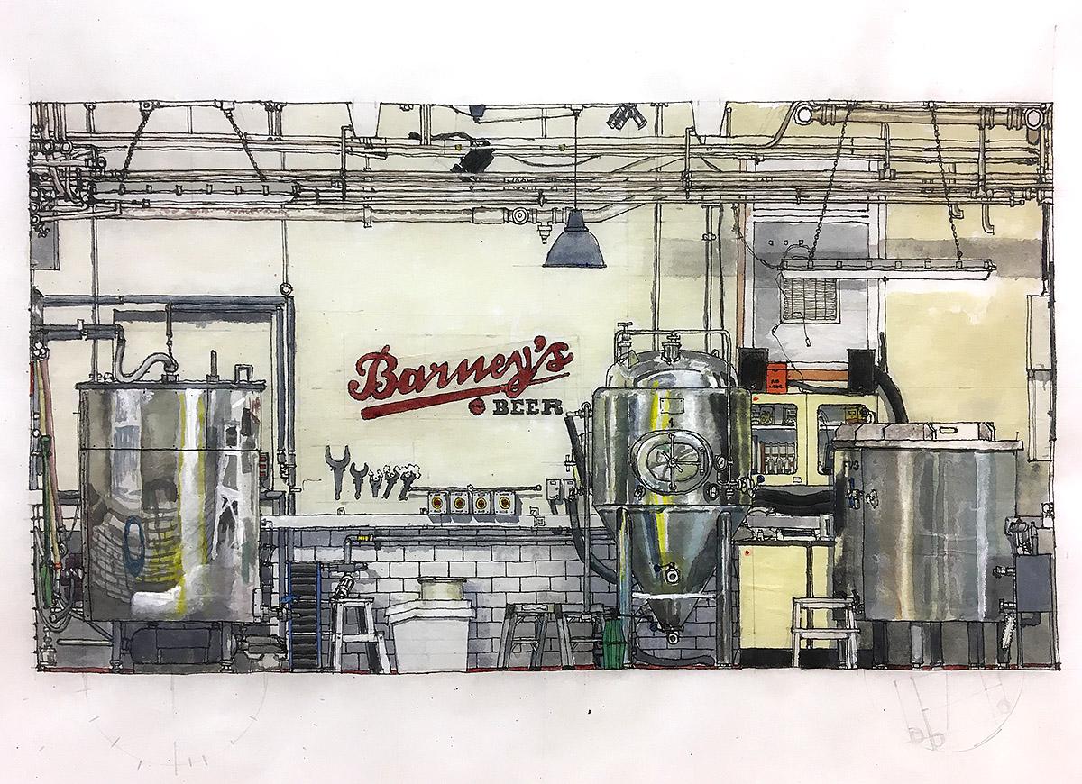 Barney's Beer Brewery
