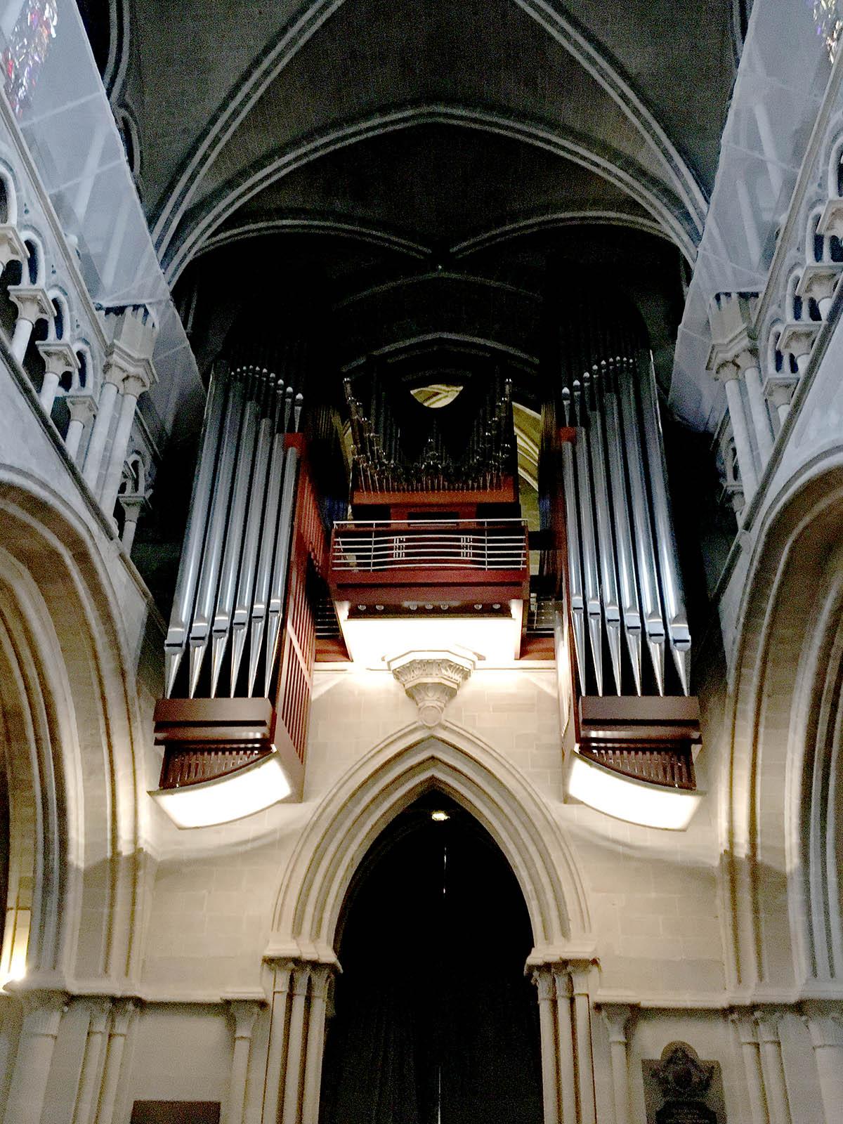 Organ, Cathedral de Notre Dame