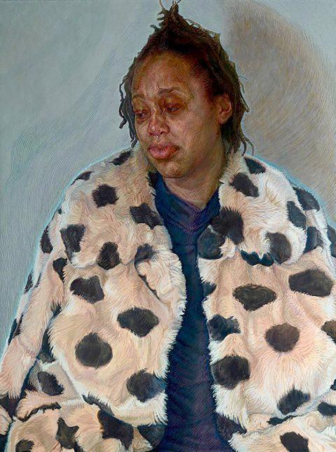 Charlie Schaffer - Imara in her Winter Coat