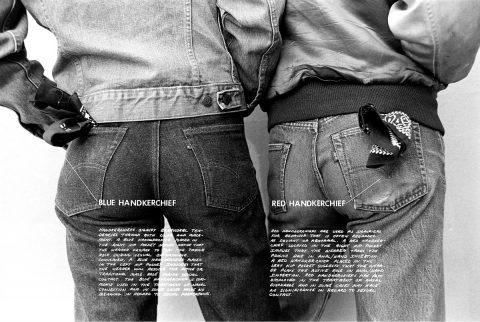 Hal Fischer - Handkerchiefs, photogrpahic print
