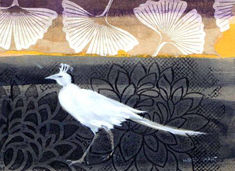 Helga Chart RSW - Night Walker, Watercolour