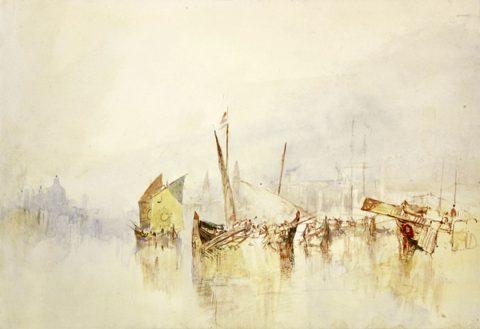 J M W Turner - The Sun of Venice, 1840