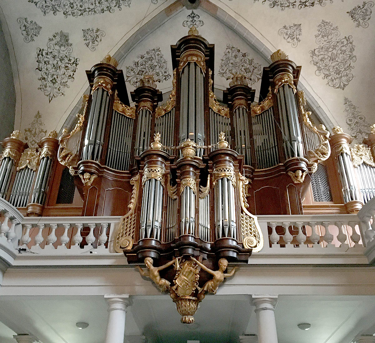 Organ, Church of St François