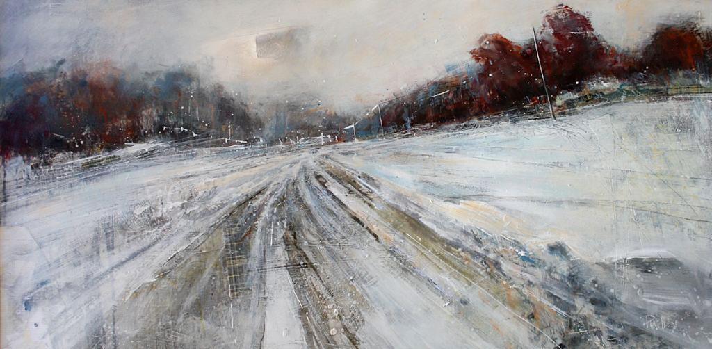 Amanda-Phillips - Winter Dawn, Mixed Media