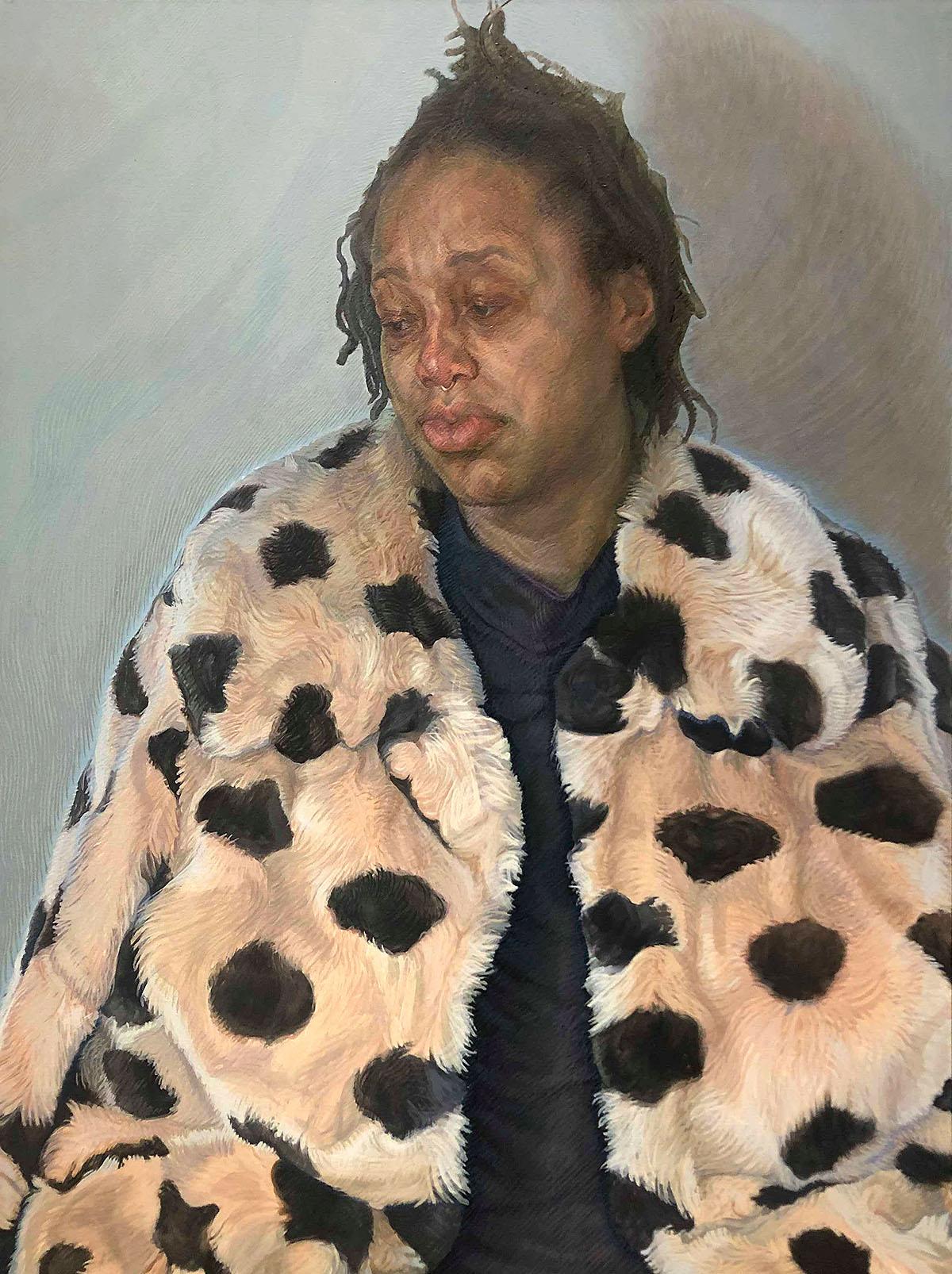 Charlie Schaffer - Imara in Her Coat
