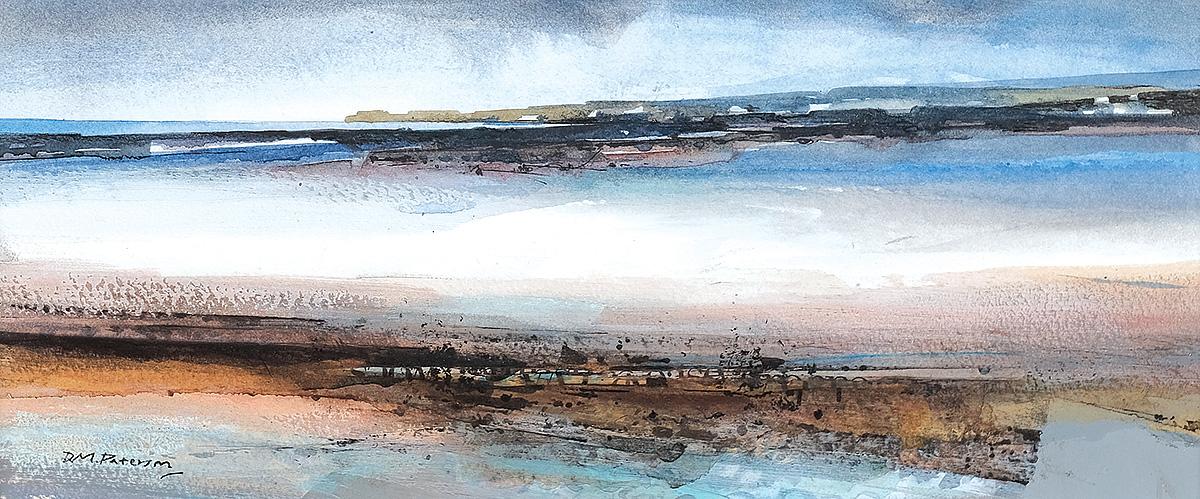 Donald M Paterson - Western Sands Uist, watercolour