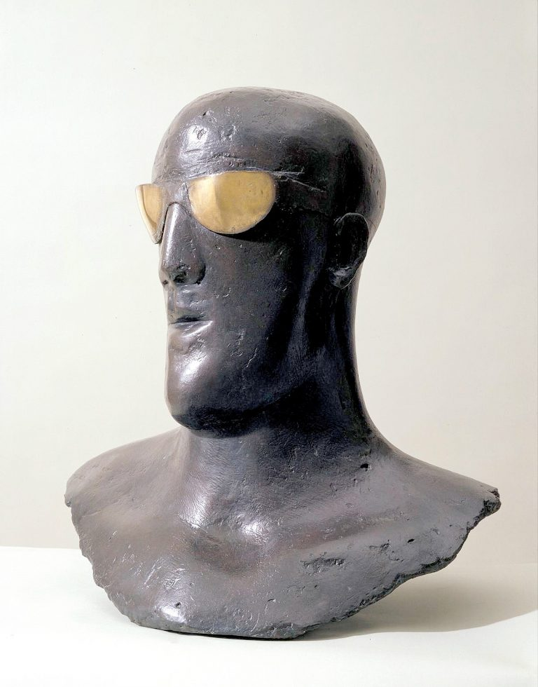 Goggle Head 1969 Dame Elisabeth Frink 1930-1993 Purchased 1998 http://www.tate.org.uk/art/work/T07396