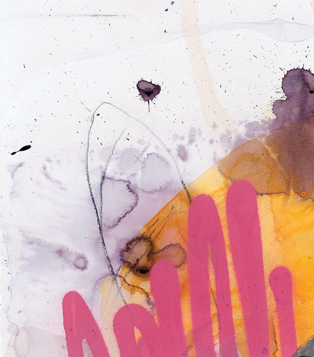 Isla Valentine Wade - My Passion is Dead, watercolour