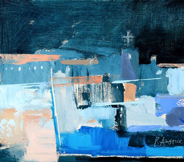 Penelope Anstice - Citadel, oil on panel