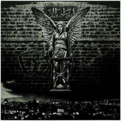 Stuart Duffin - 'If Angels cast Shadows…', Media Mezzotint engraving