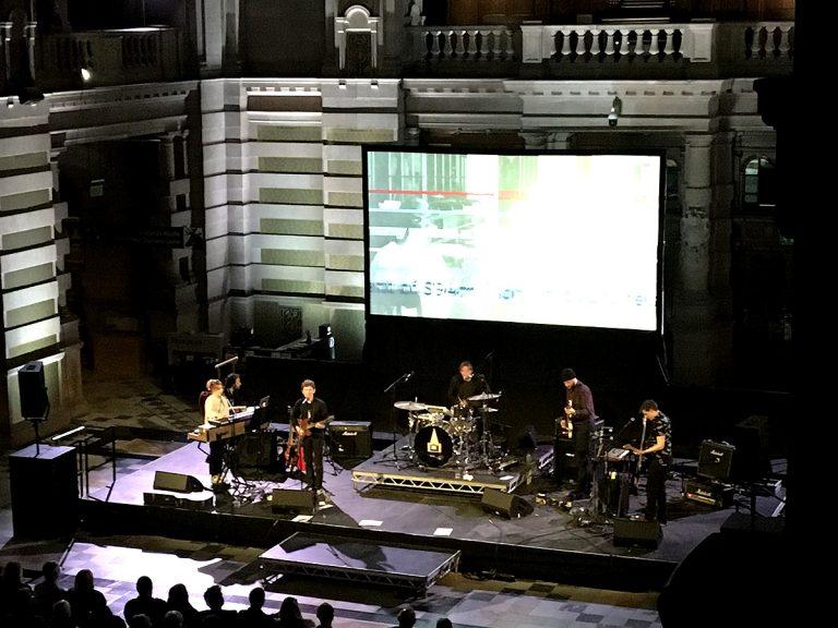 Field Music, Kelvingrove, Glasgow, 01 02 20
