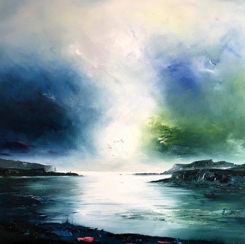 Linda Park - Gathering Stormclouds, Loch Bracadale, Isle of Skye
