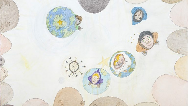 Shuvinai Ashoona, Pregnancies in Universe